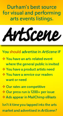 ArtScene: Durham's best source for visual and performing arts