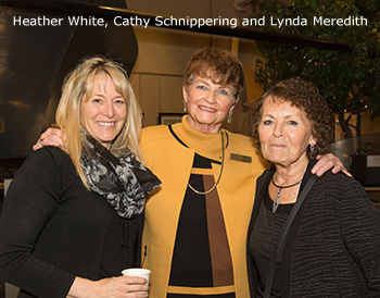 Heather White, Cathy Schnippering and Lynda Meredith