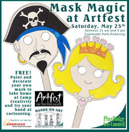 Mask Magic at Hands on Art