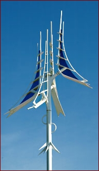 Ron Baird's Millennium Mast, photo by Mary Cook